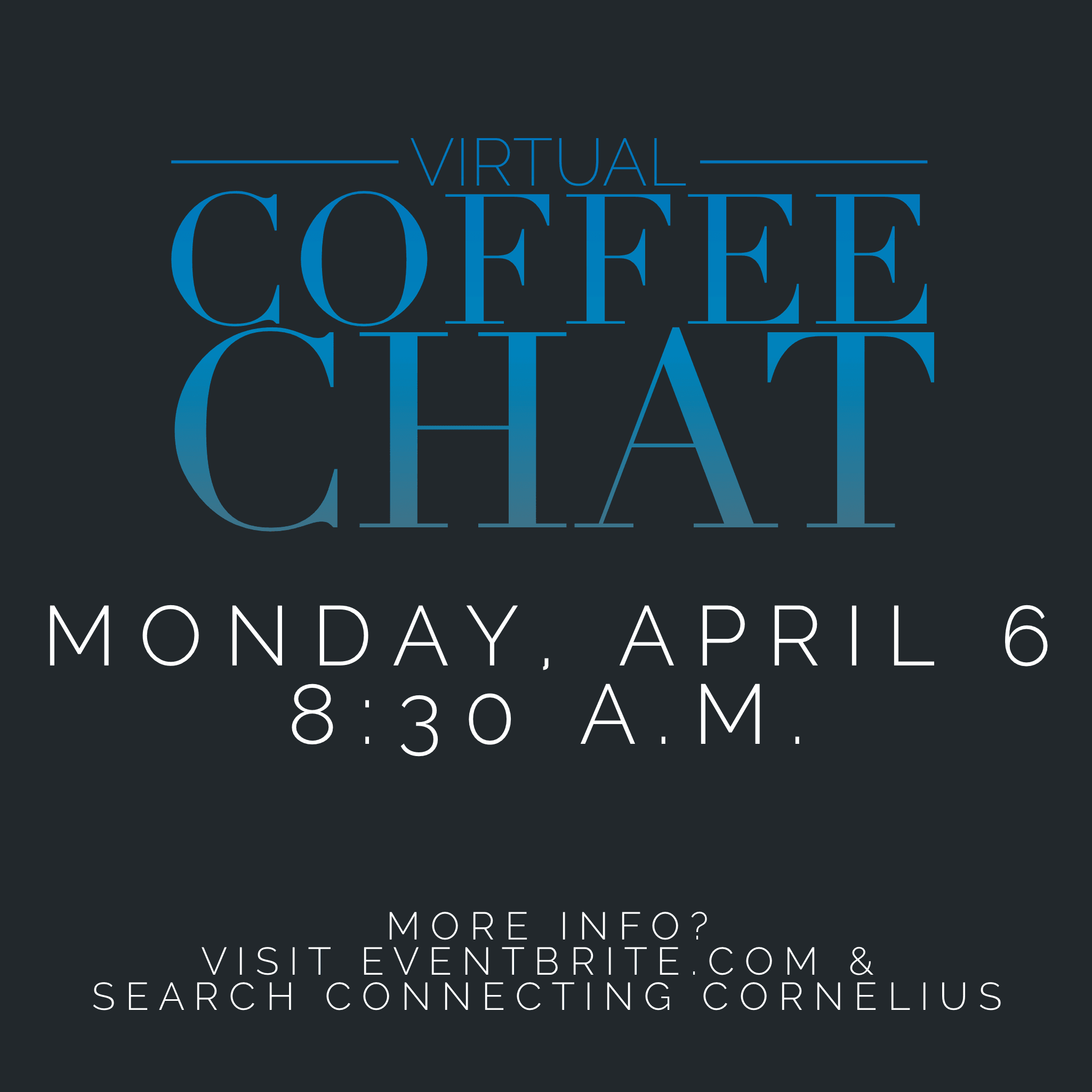 virtual coffee chat copy