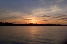 Sunset on Lake Norman