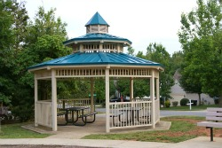 Gazebo at Walter Henderson Park